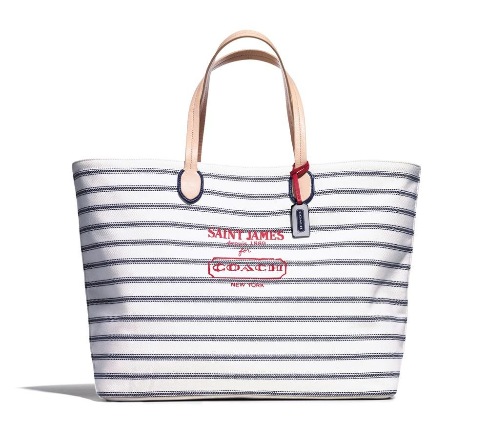 Men's St James Tote. Saint James para Coach