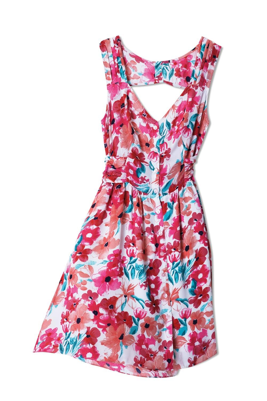 Vestido floreado - InStyle