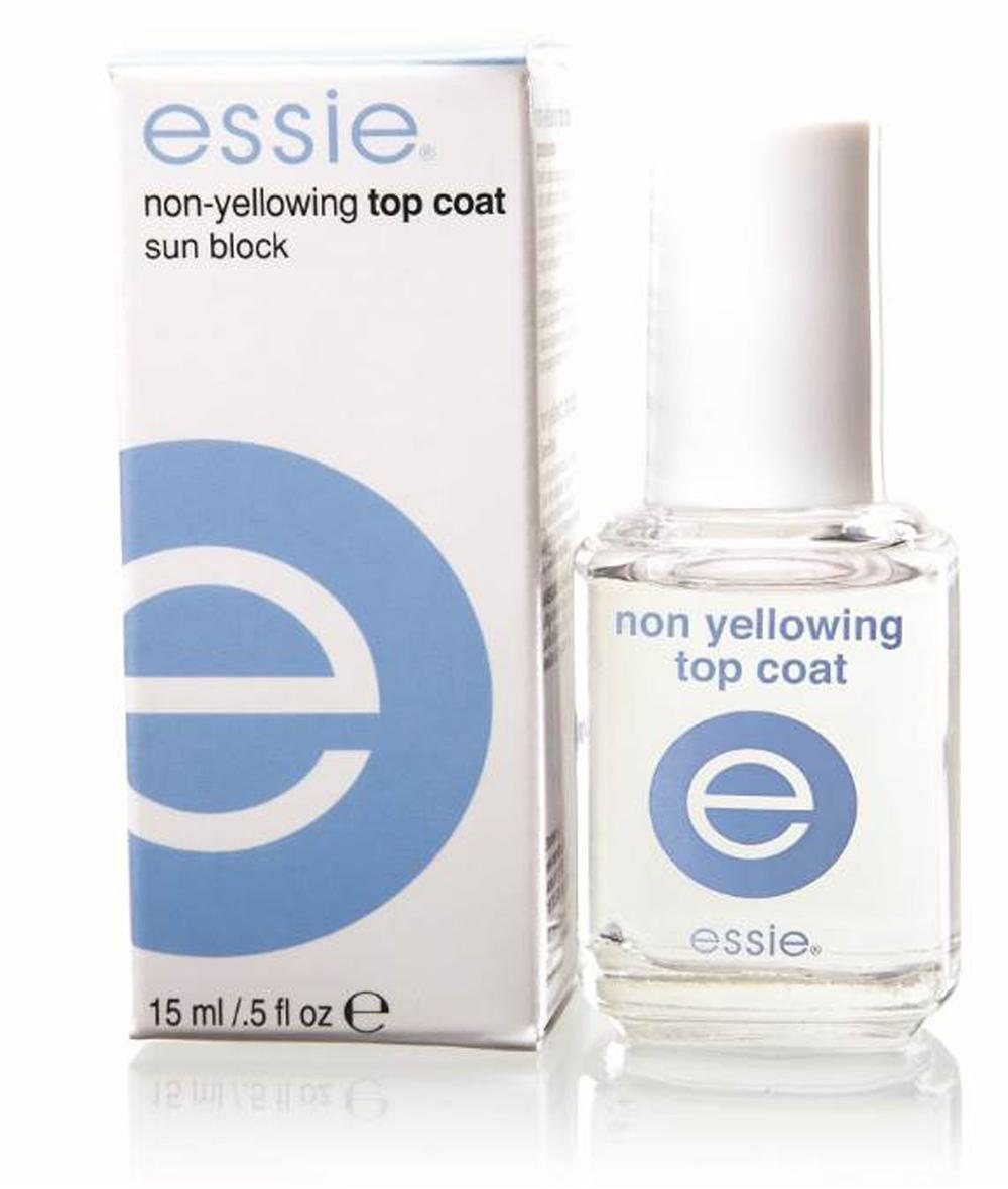 French Marinére. Non-yellowing top coat, de Essie