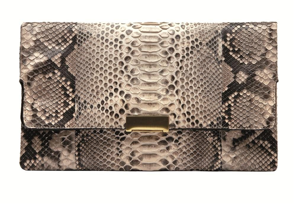 ASOS Clutch Bag With Metallic Spot. Gerard Darel