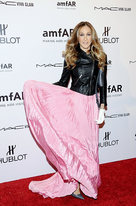 new years eve. Sarah Jessica Parker