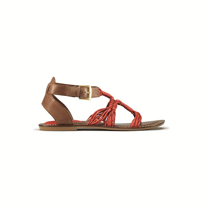 Surf Savvy Coral Leather Womens LB 15249 CLIP. Safari
