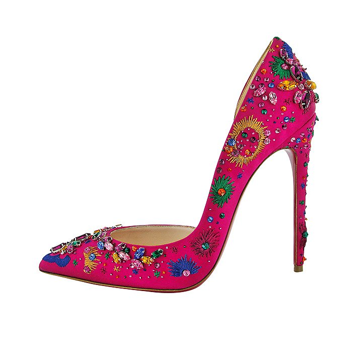 Christian Louboutin Artifice 120 Satin Grenadine. Tipo Joya