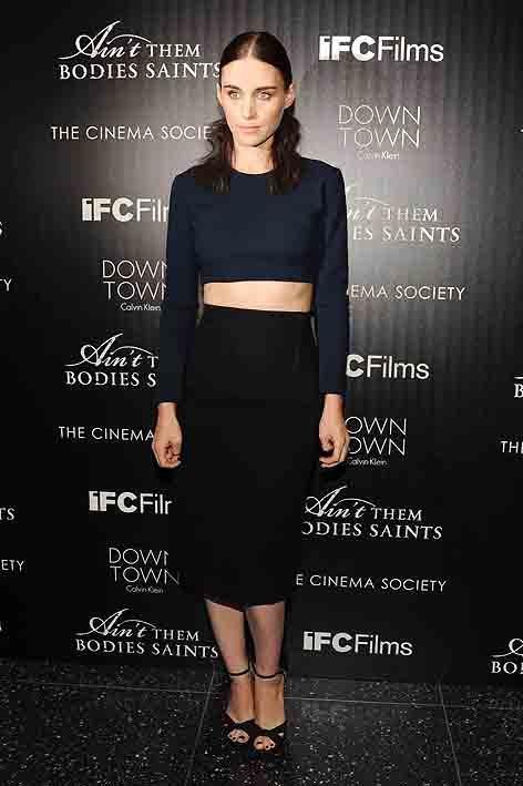 downtown-ck+ifc+cine#84AFCC. Rooney Mara