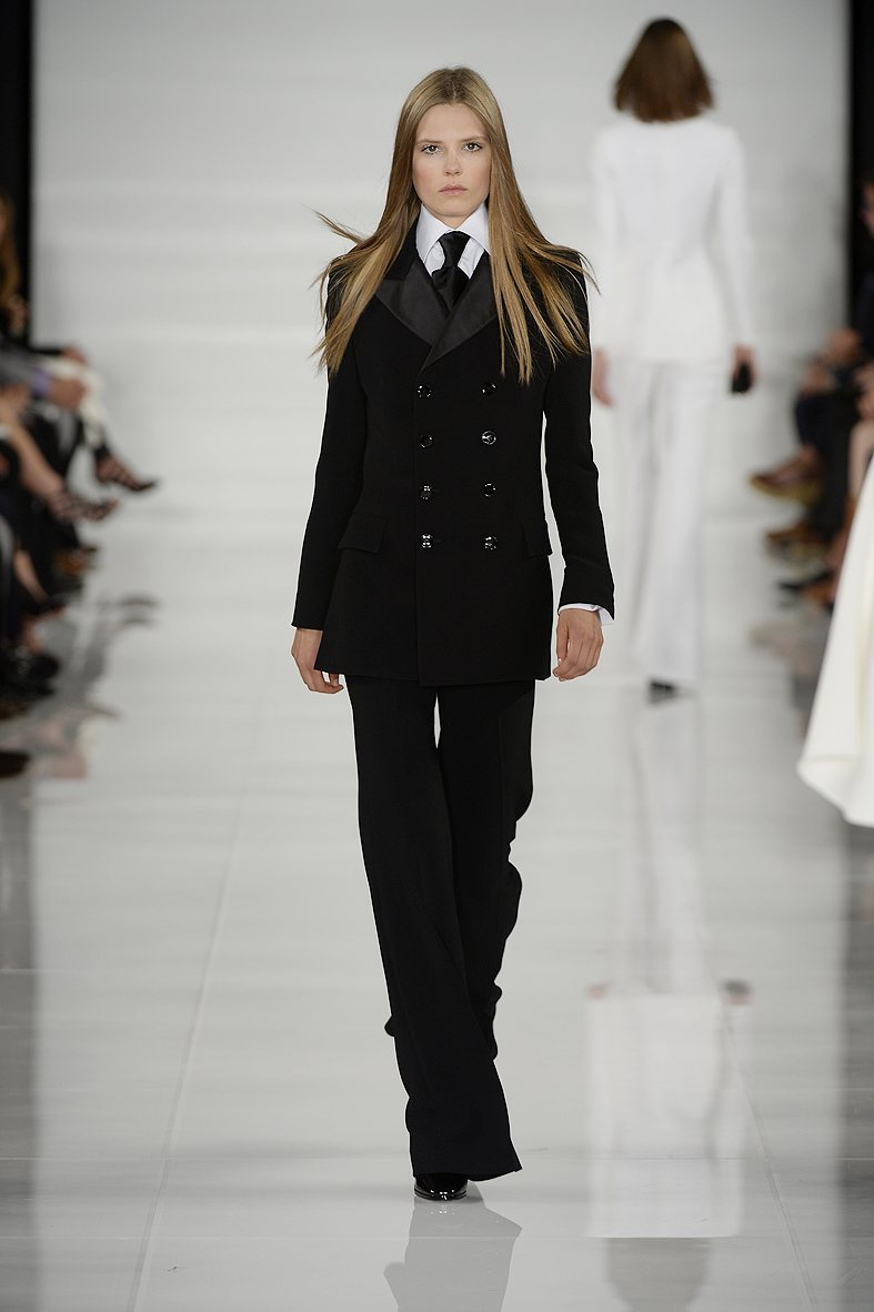 Ralph Lauren Collection Spring 2014 Look 49. P/V 2014