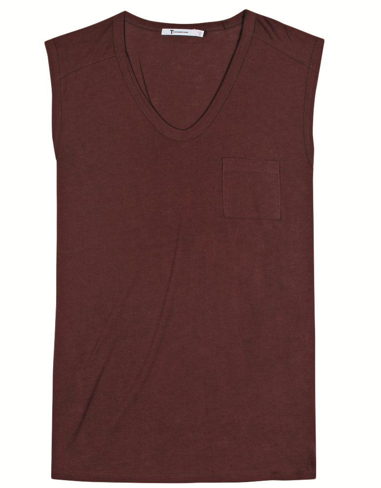 P00069425-CLASSIC-MUSCLE-TEE-STANDARD. T by Alexander Wang