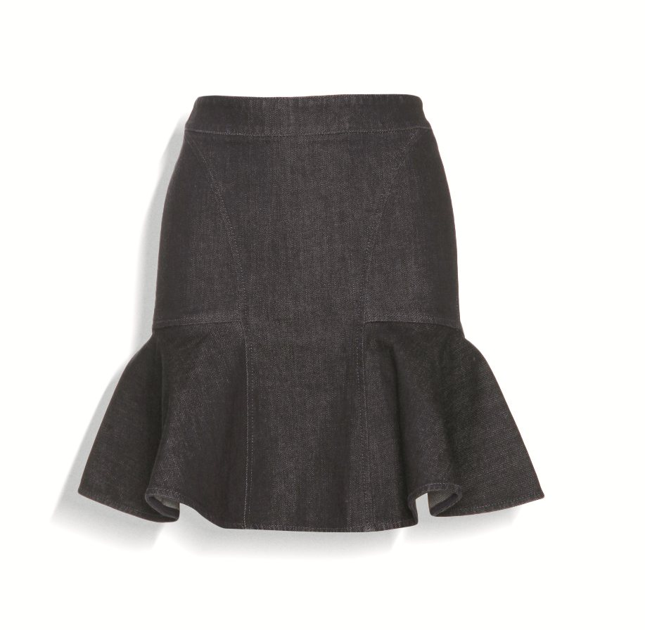 P00067700-DENIM-SKIRT-STANDARD. Stella McCartney