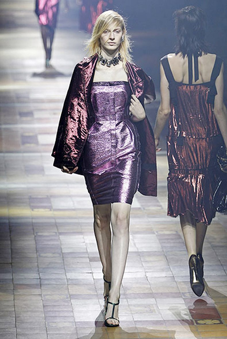 Lanvin 110072. Metal con color