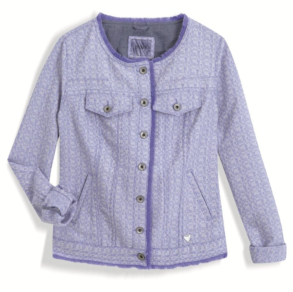 n-instyle guess. Chaqueta de tweed