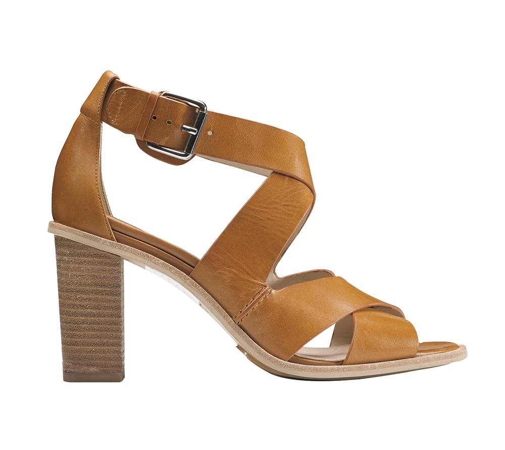 Oriana Bess Tan Leather. Sandalias
