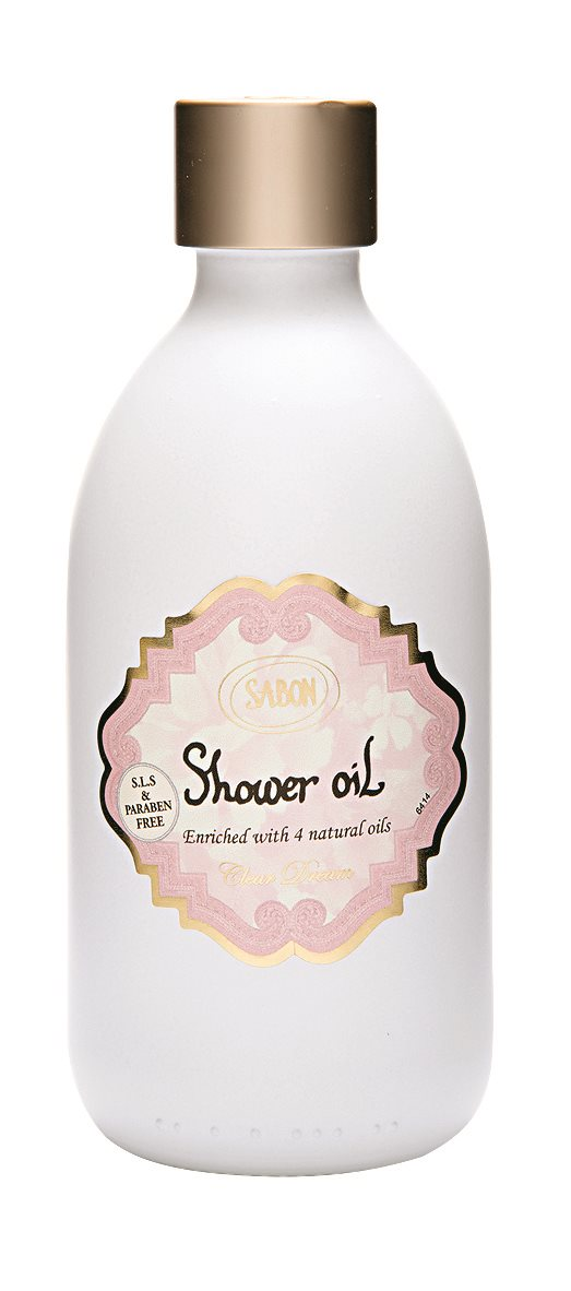 SABON Shower Oil   clear dream 7. Baño relajante