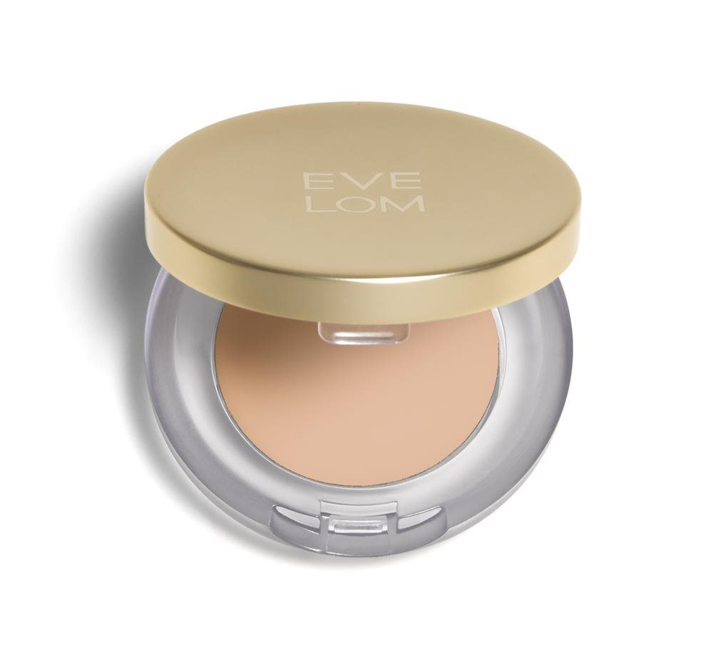EVE LOM bRILLIANT Compact concealer lid open. Corrector