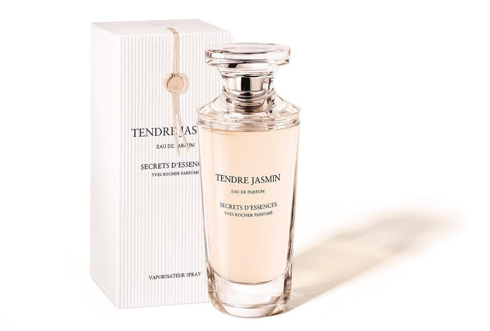 Secrets d'essences Tendre Jasmin- Perfume y caja. Yves Rocher