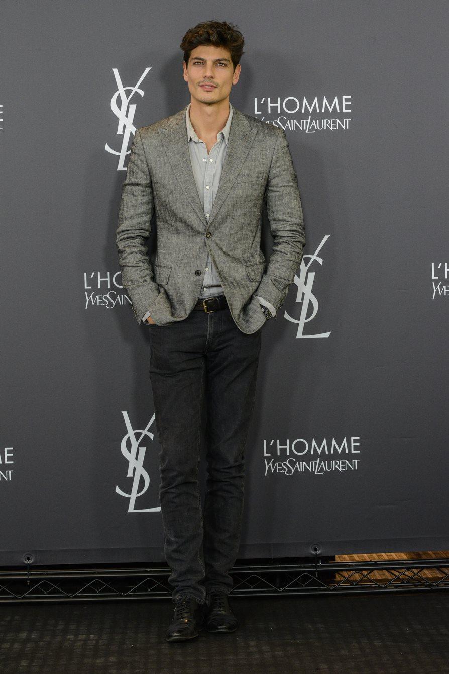 L Homme party de Yves Saint Laurent Beauté en Madrid - InStyle 4b64467902e
