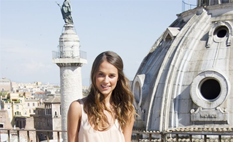 Alicia Vikander, de Stella McCartney