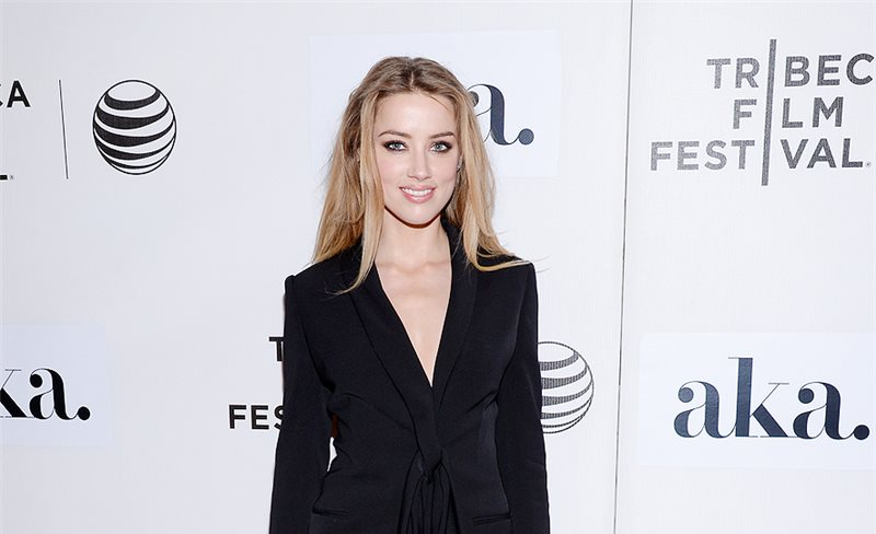 Amber Heard, de Stella McCartney