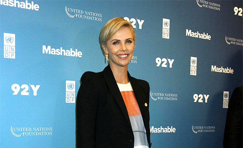Charlize Theron, de Zimmermann