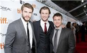 Chris, Liam y Luke Hemsworth