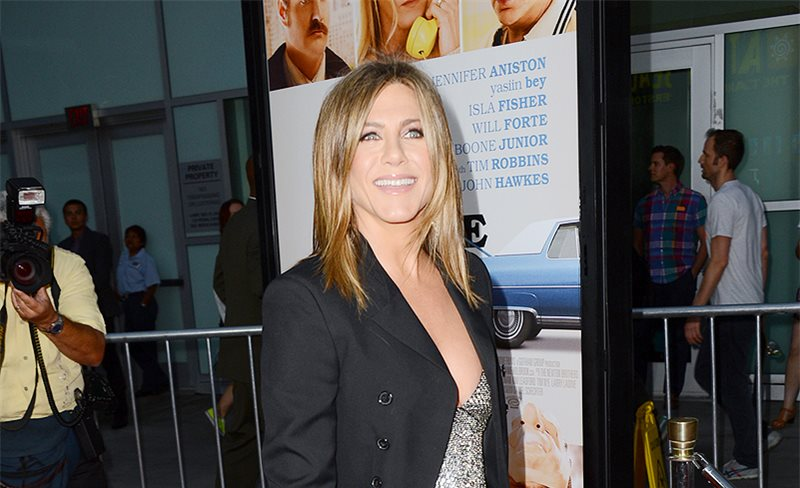 Jennifer Aniston, de Saint Laurent