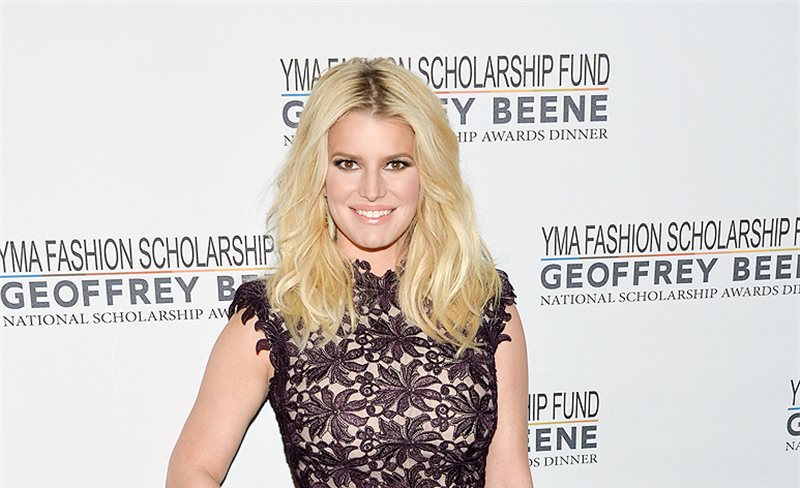Jessica Simpson, de Monique Lhuillier