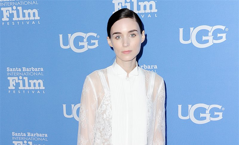 Rooney Mara, de Givenchy by Riccardo Tisci