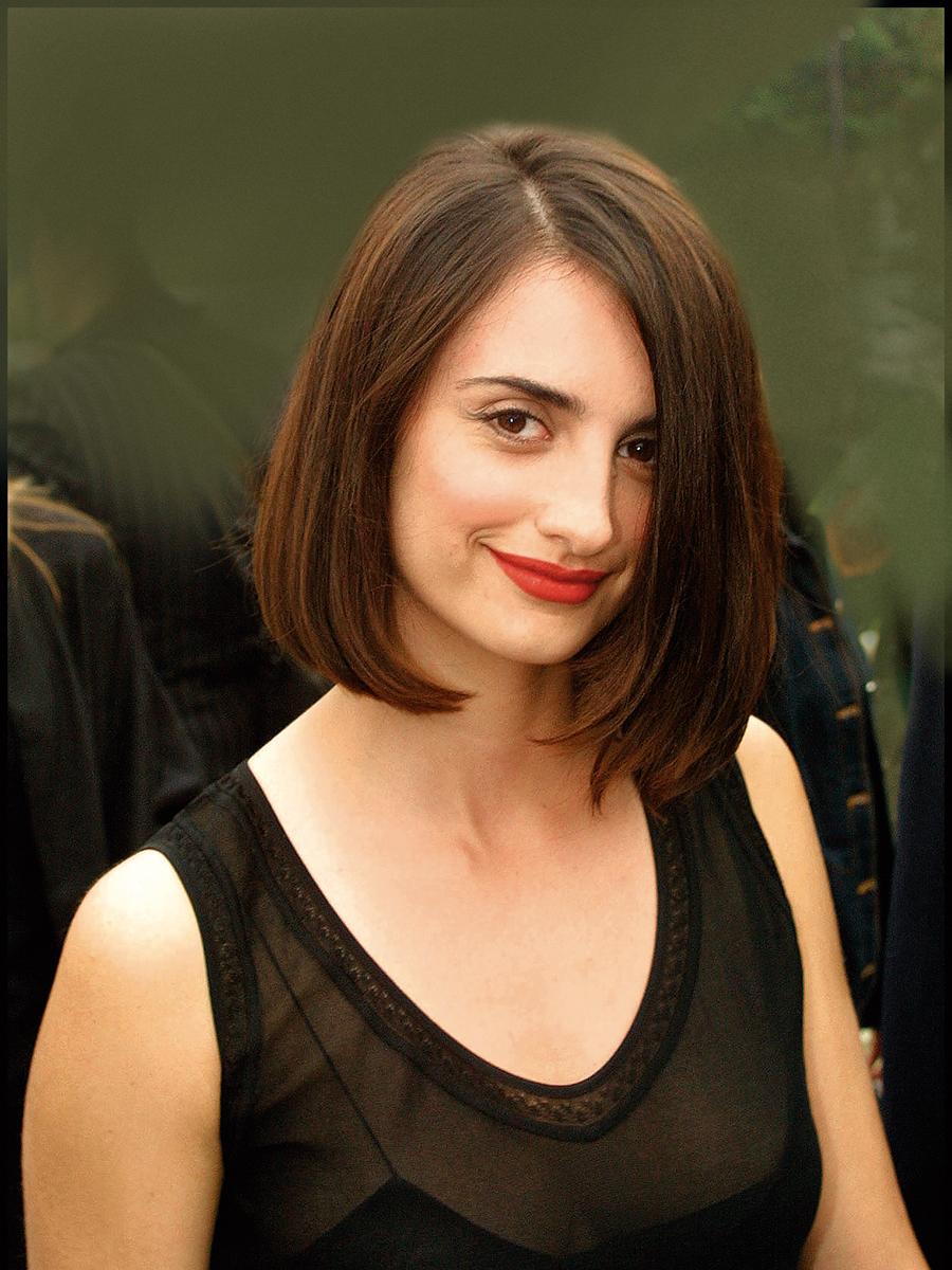 Penelope cruz con pelo corto