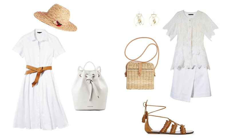 Looks con prendas de color blanco