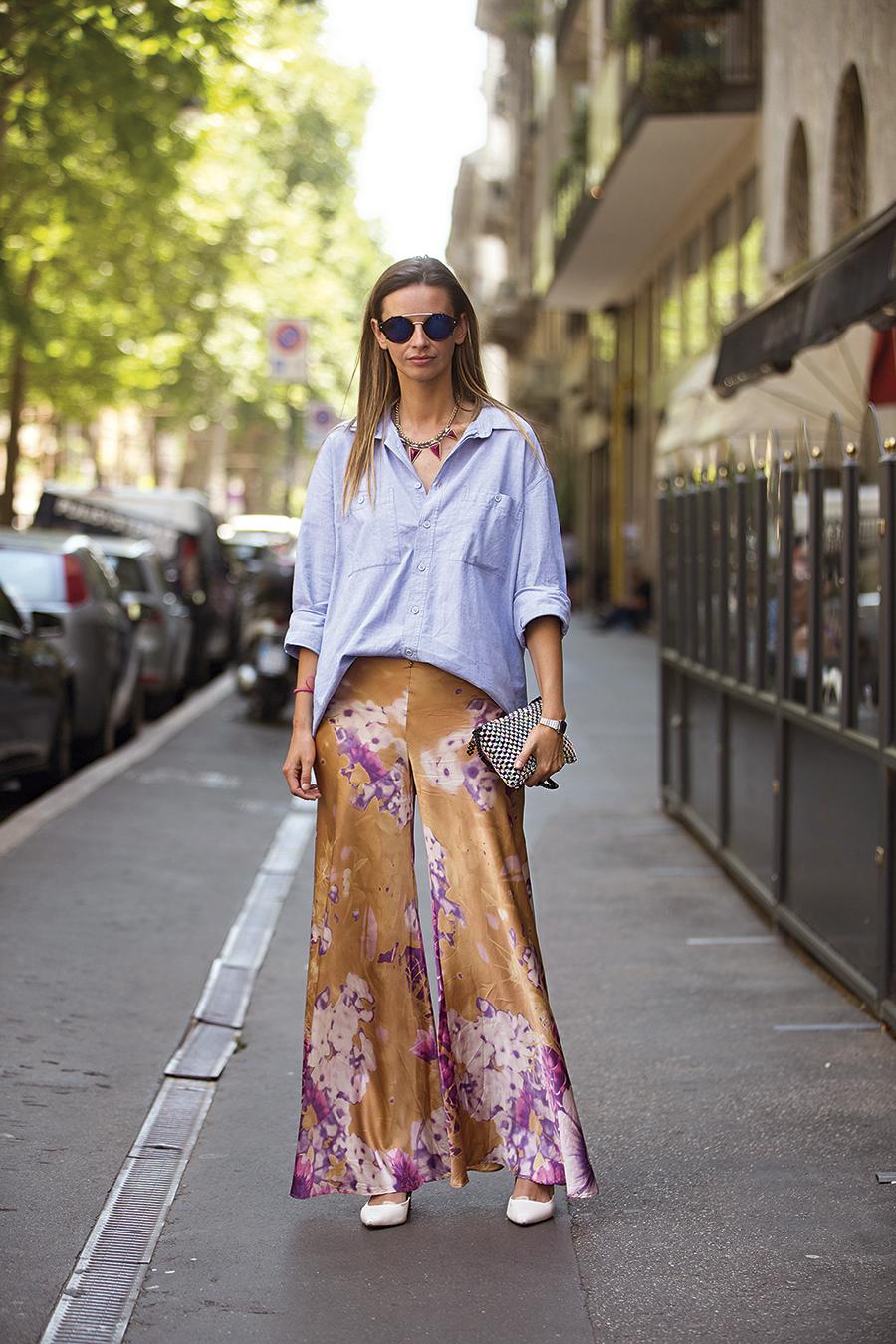 5f86126c0 Reinventa tu pantalón pijama - InStyle