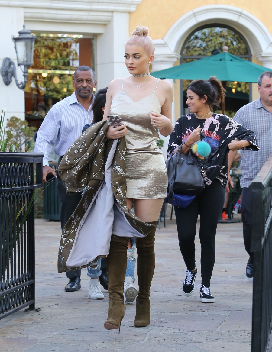 Kylie Jenner in Calabasas. Kylie Jenner