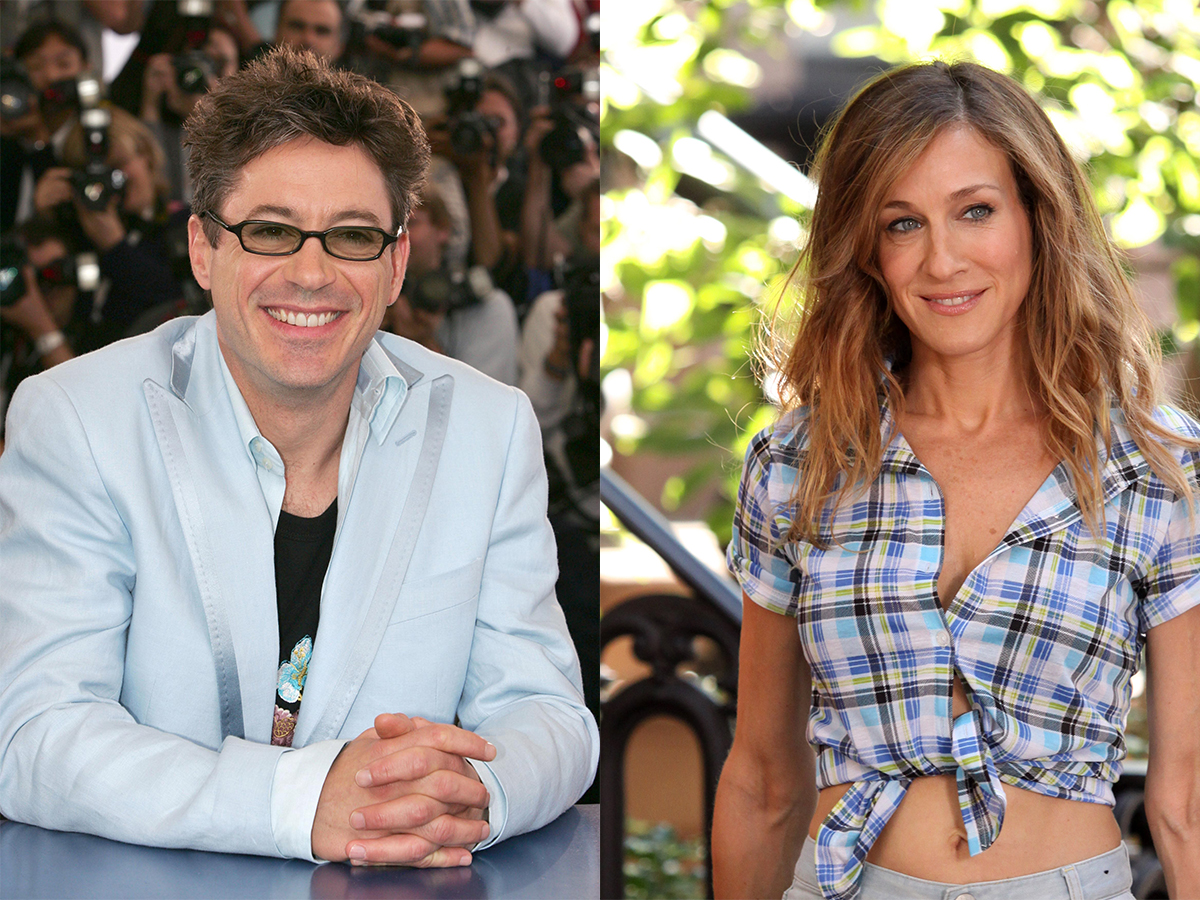 Robert Downey Junior y Sarah Jessica Parker