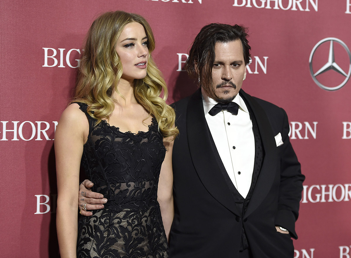 Amber Heard y Johnny Deep