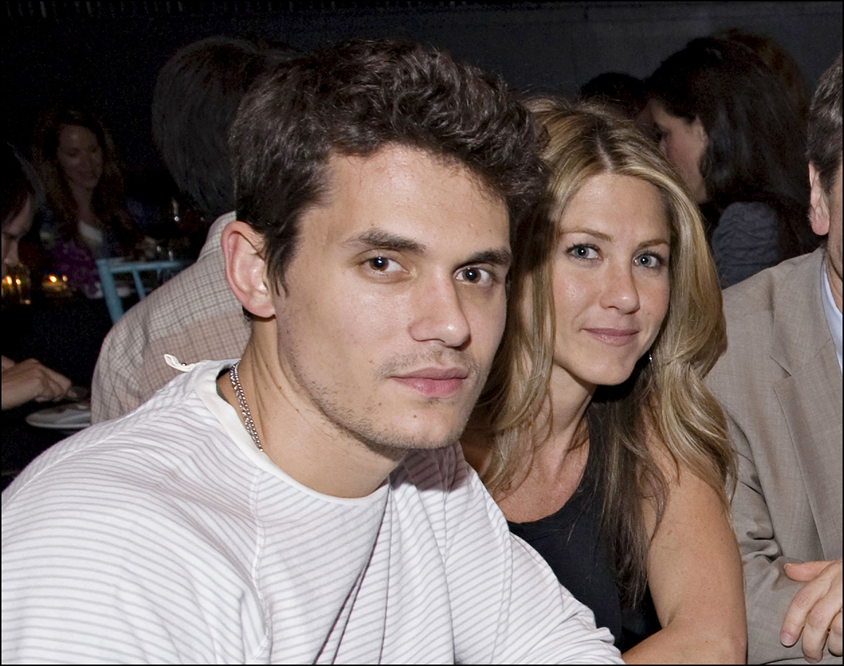 Jennifer Aniston y John Mayer