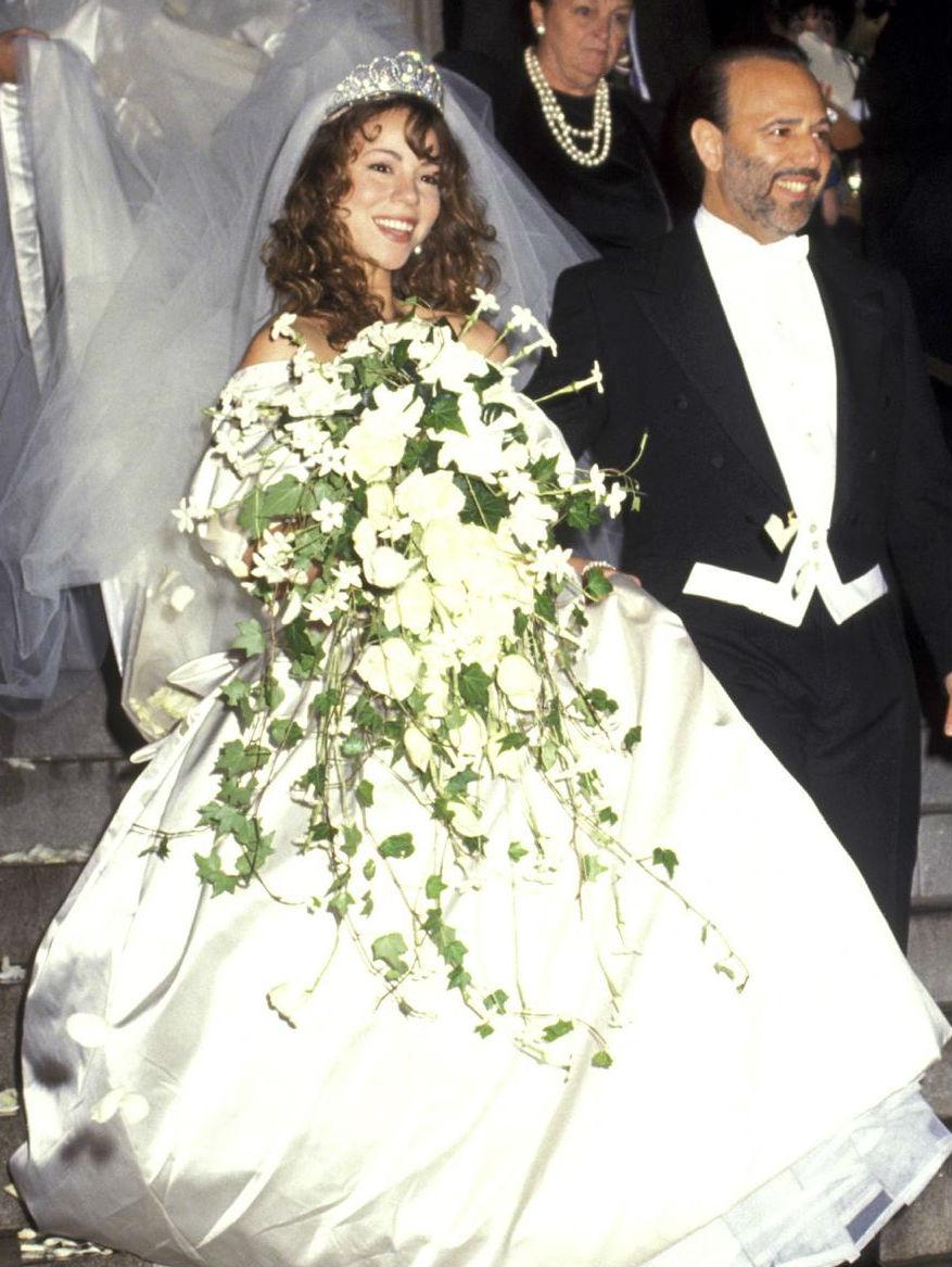 6d87945726 Famosas en las que no querrás inspirarte para tu boda - InStyle