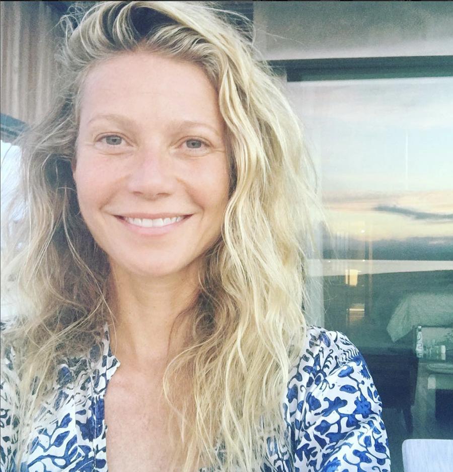 Gwyneth Palthrow sin maquillaje