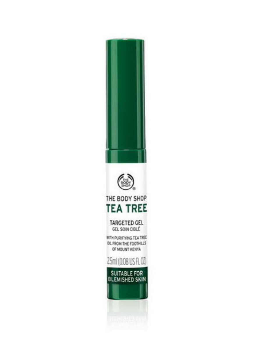 Gel antiimperfecciones de te verde, de The Body Shop (8 euros).. Gel antiimperfecciones de té verde, de The Body Shop (8 euros).