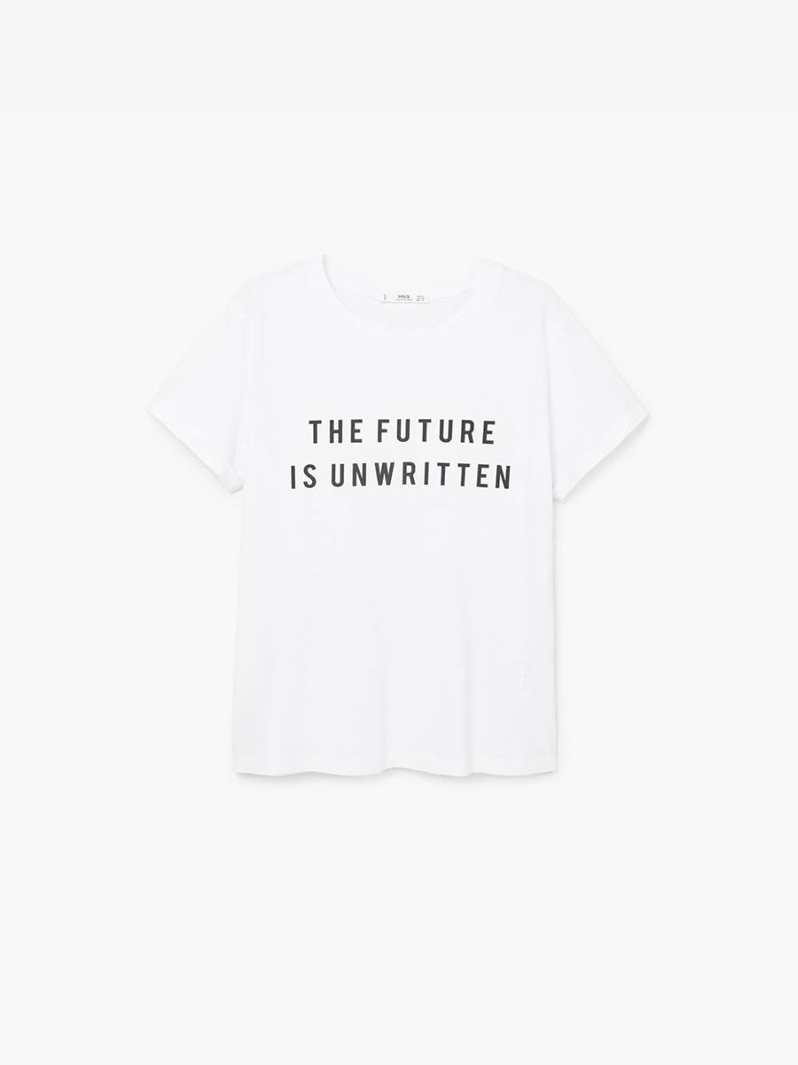 Las camisetas de Mango que todas quieren - InStyle