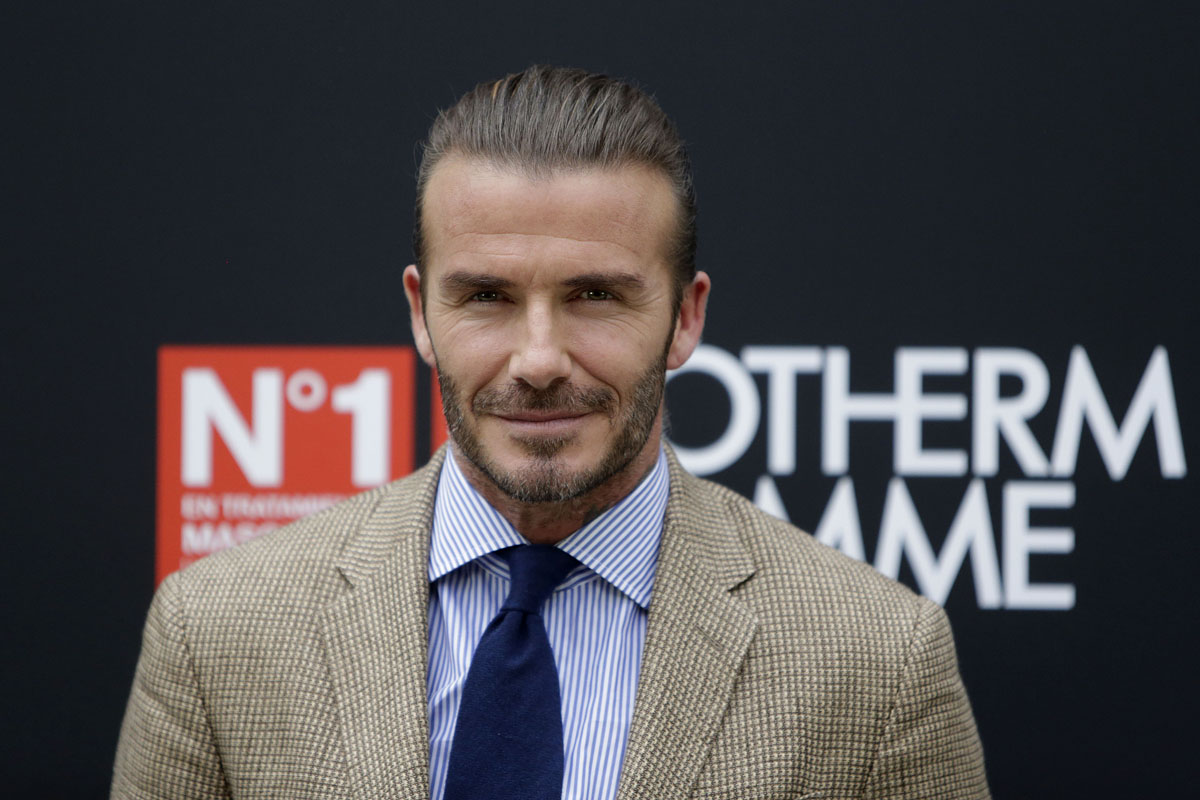 DL u377824 017. David Beckham de evento en Madrid