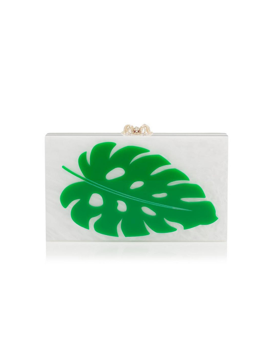 charlotte olympia. Un 'clutch' con toque tropical