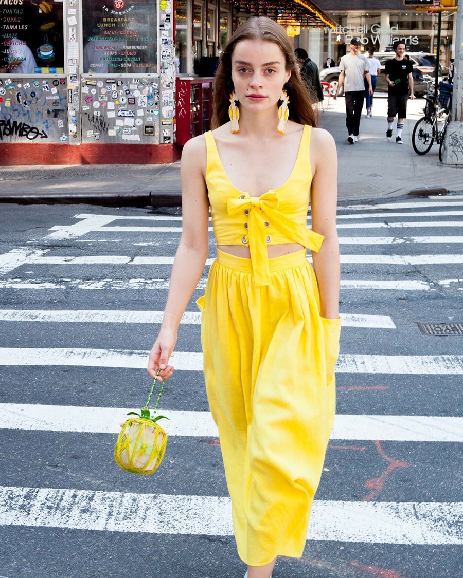 manrepeller 2. Yellow fever