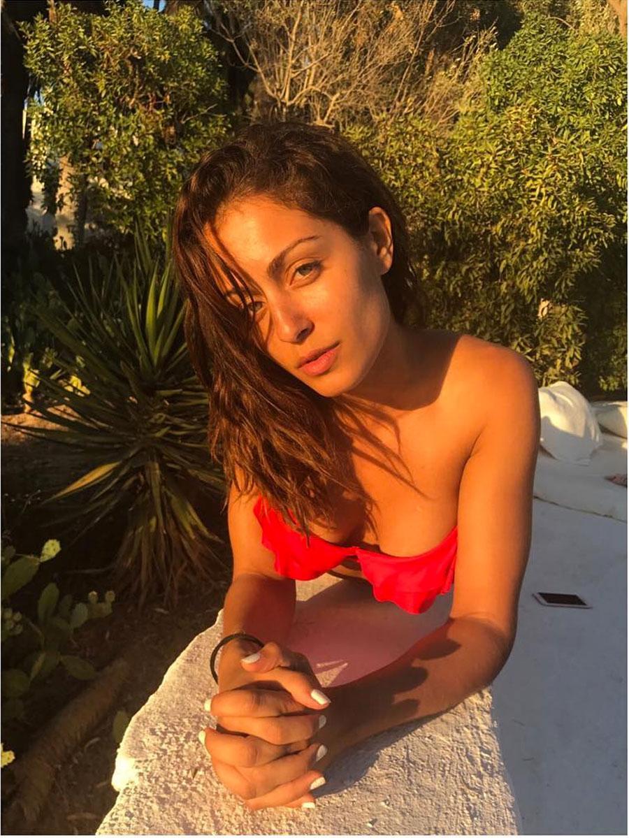 Hiba Abouk sin maquillaje