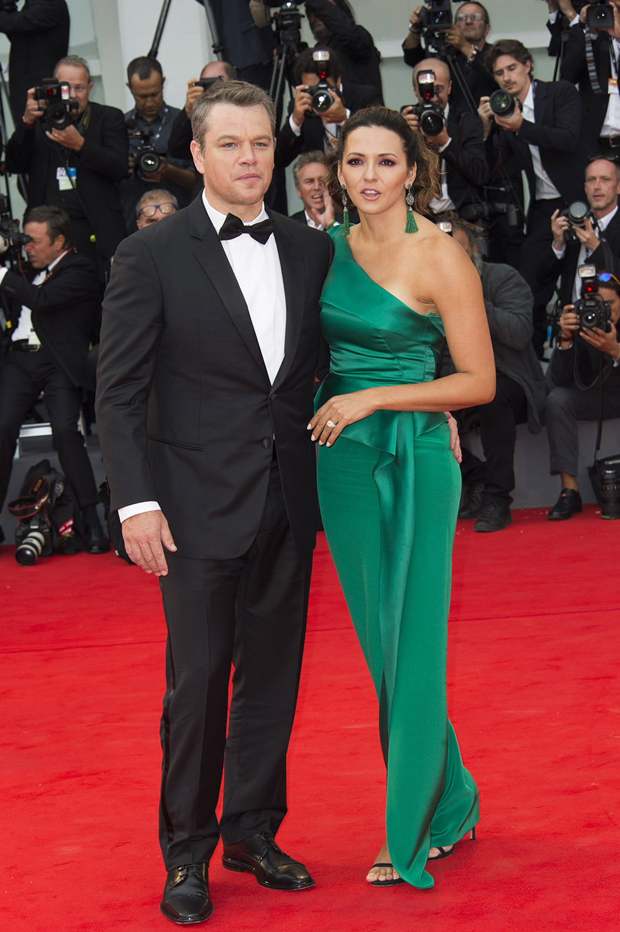 DL u382965 059. Matt Damon y Luciana Barroso
