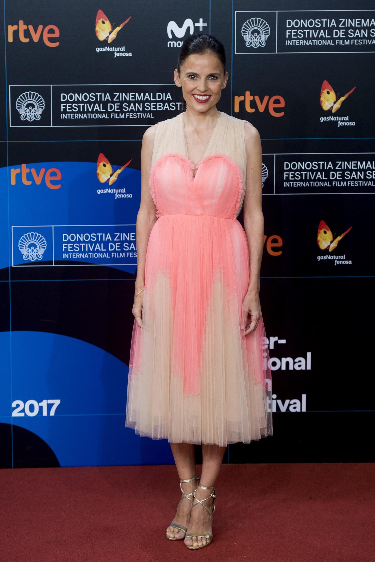 Fantástico Tony Rueda Vestido De Fiesta De Color Rosa Elaboración ...
