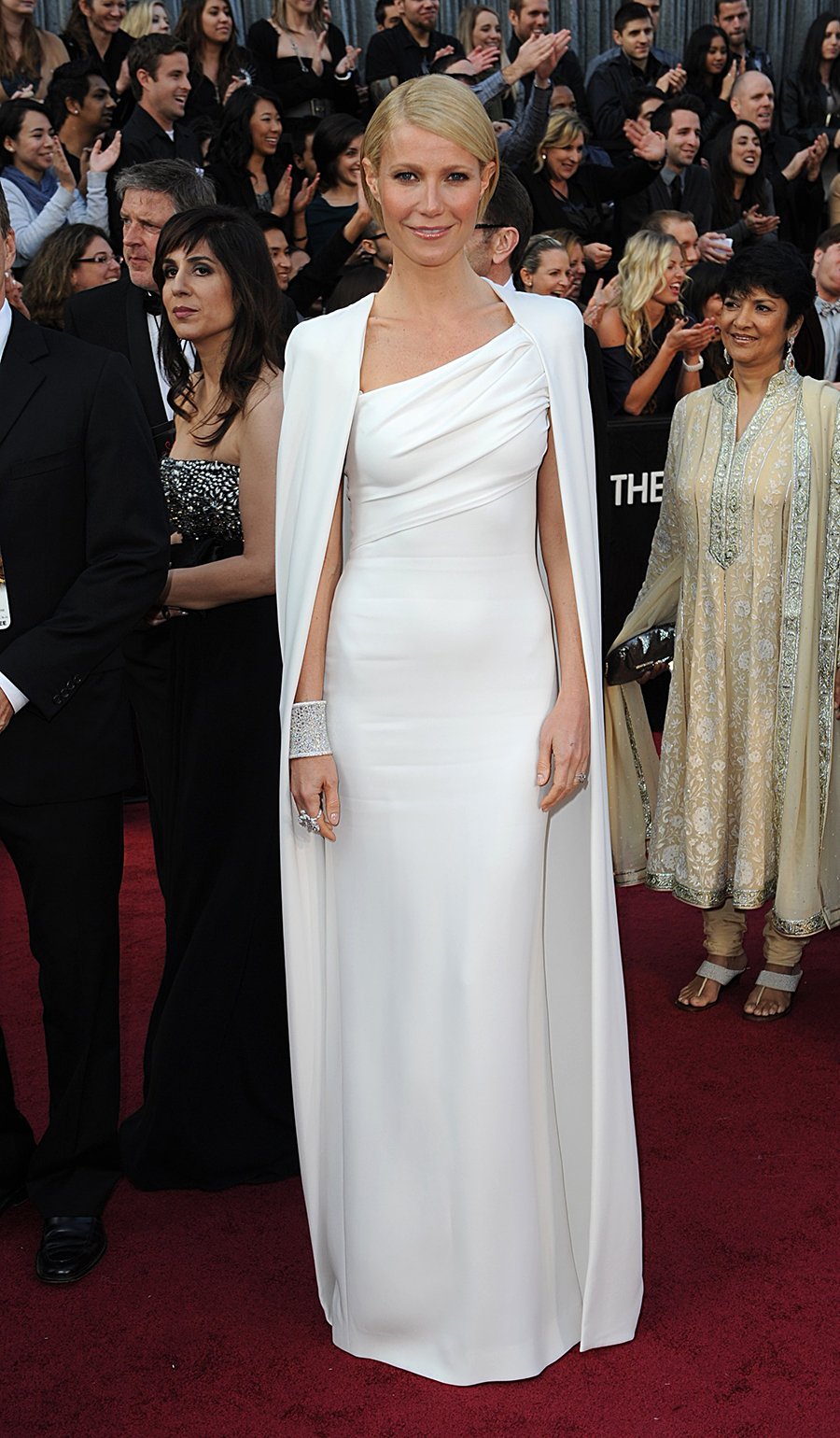 Gwyneth Paltrow 06. Radiante de blanco
