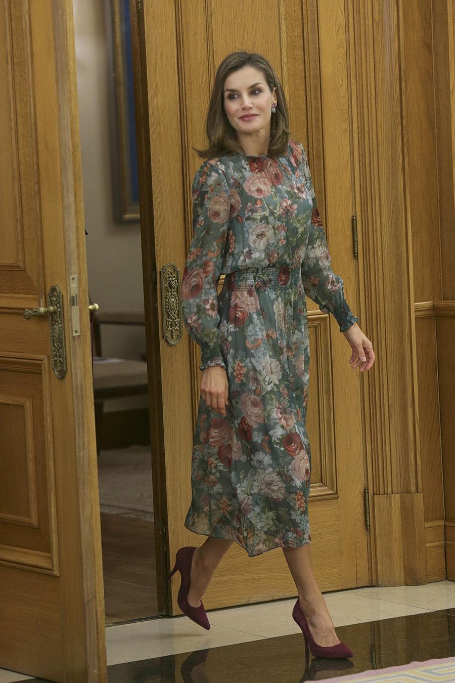 18cff2325 Todas las veces que Letizia Ortiz ha vestido de Zara - InStyle