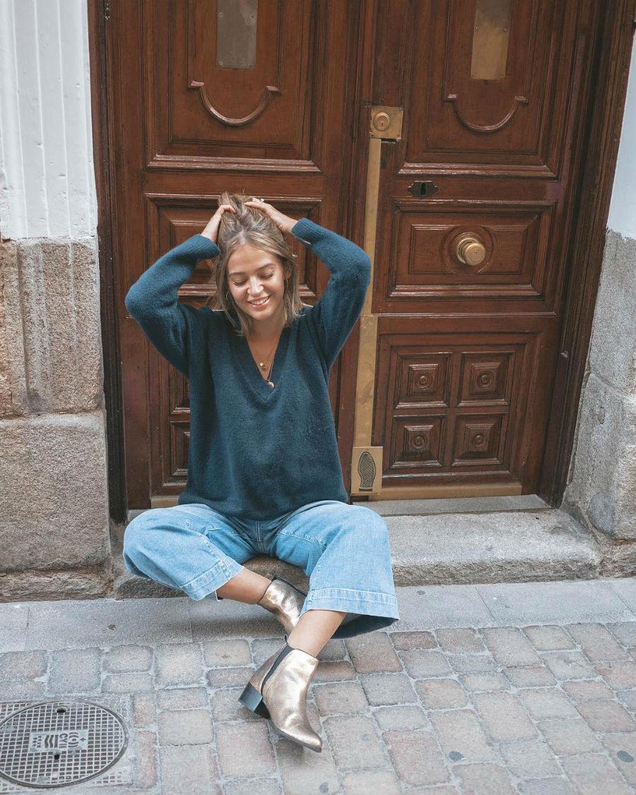 50b4ca635c Laura Escanes Instagram. Laura Escanes ya lleva los botines de este otoño