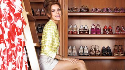 Los vestidores de las famosas: Eva Longoria, la Kardashian, Miranda Kerr...