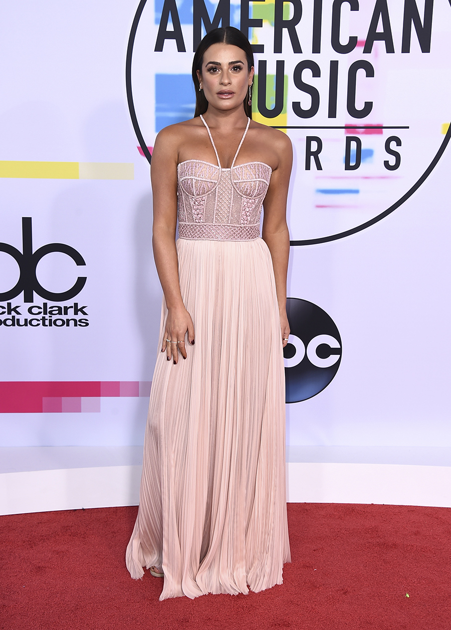 Lea Michele American Music Awards. Lea Michele