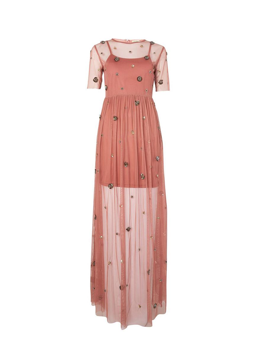20 vestidos de fiesta largos que necesitas para Navidad (por menos ...
