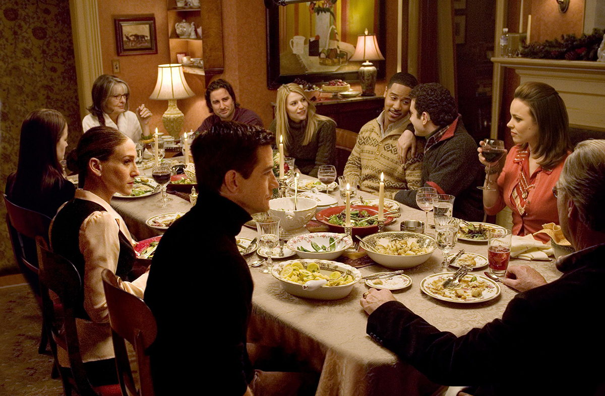 the-family-stone-christmas-eve-dinner. La importancia de una buena mesa