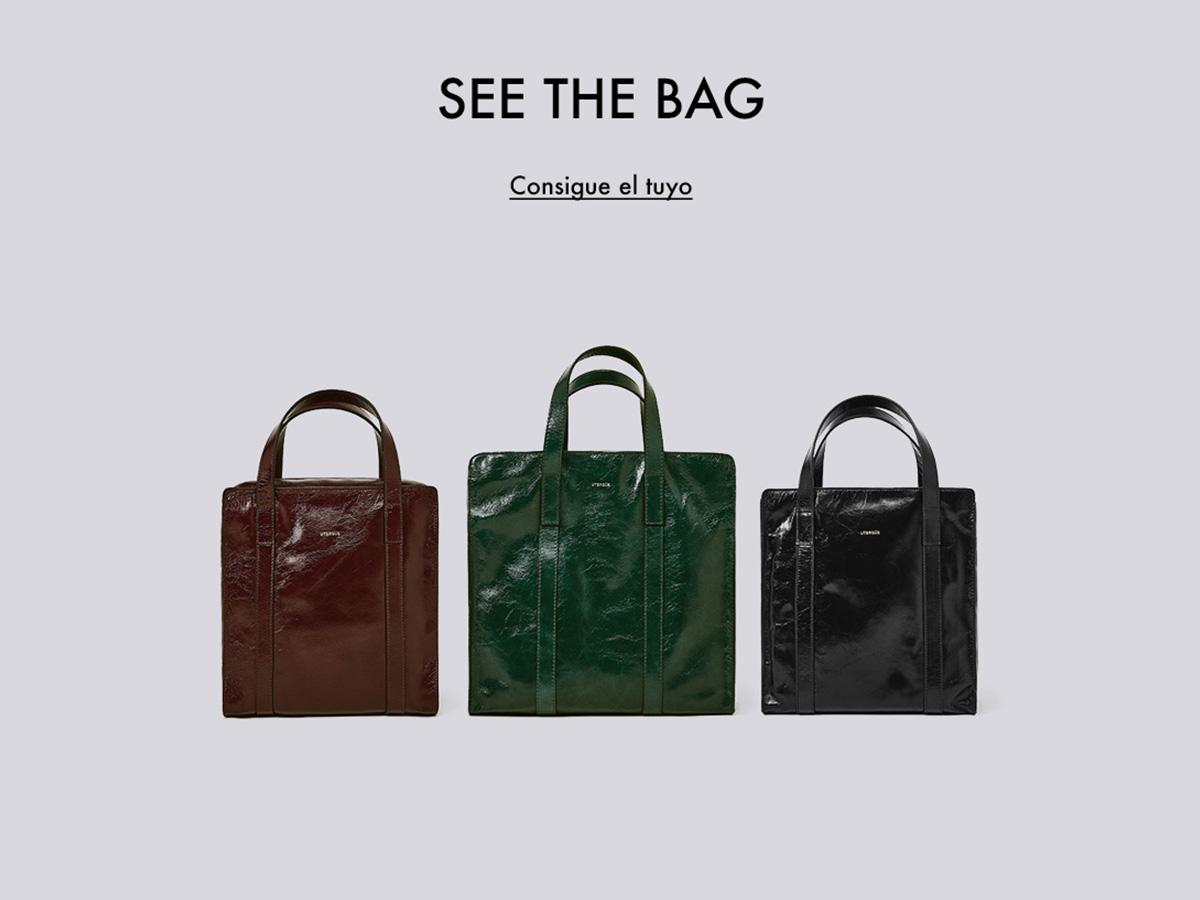 6a468c1ef92 El nuevo bolso de Uterqüe que parece un Balenciaga - InStyle
